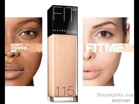 [Maybelline] Kem Nền Maybelline Fit Me Foundation