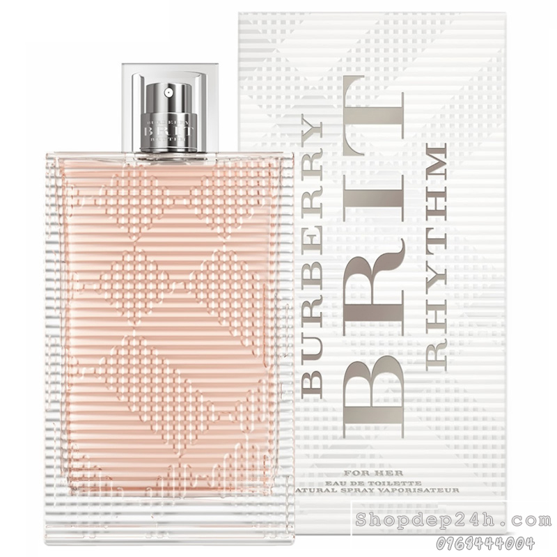 [Burberry] Nước hoa mini nữ Burberry Brit Rhythm For Her 5ml