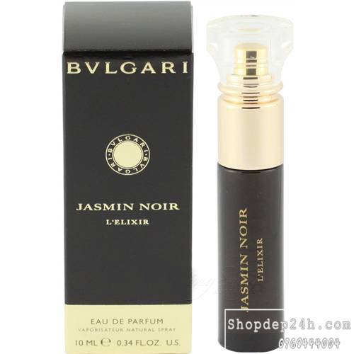 [Bvlgari] Nước hoa mini nữ Bvlgari Jasmin Noir L'Elixir For Women 10ml