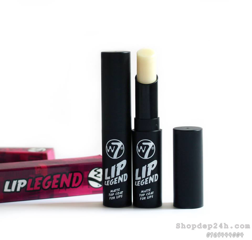 [W7] Son tạo độ lì W7‬ LIP LEGEND MATTE TOP COAT FOR LIPS