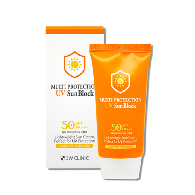 [3W Clinic] Kem Chống Nắng 3W CLINIC Multi Protection UV Sun Block